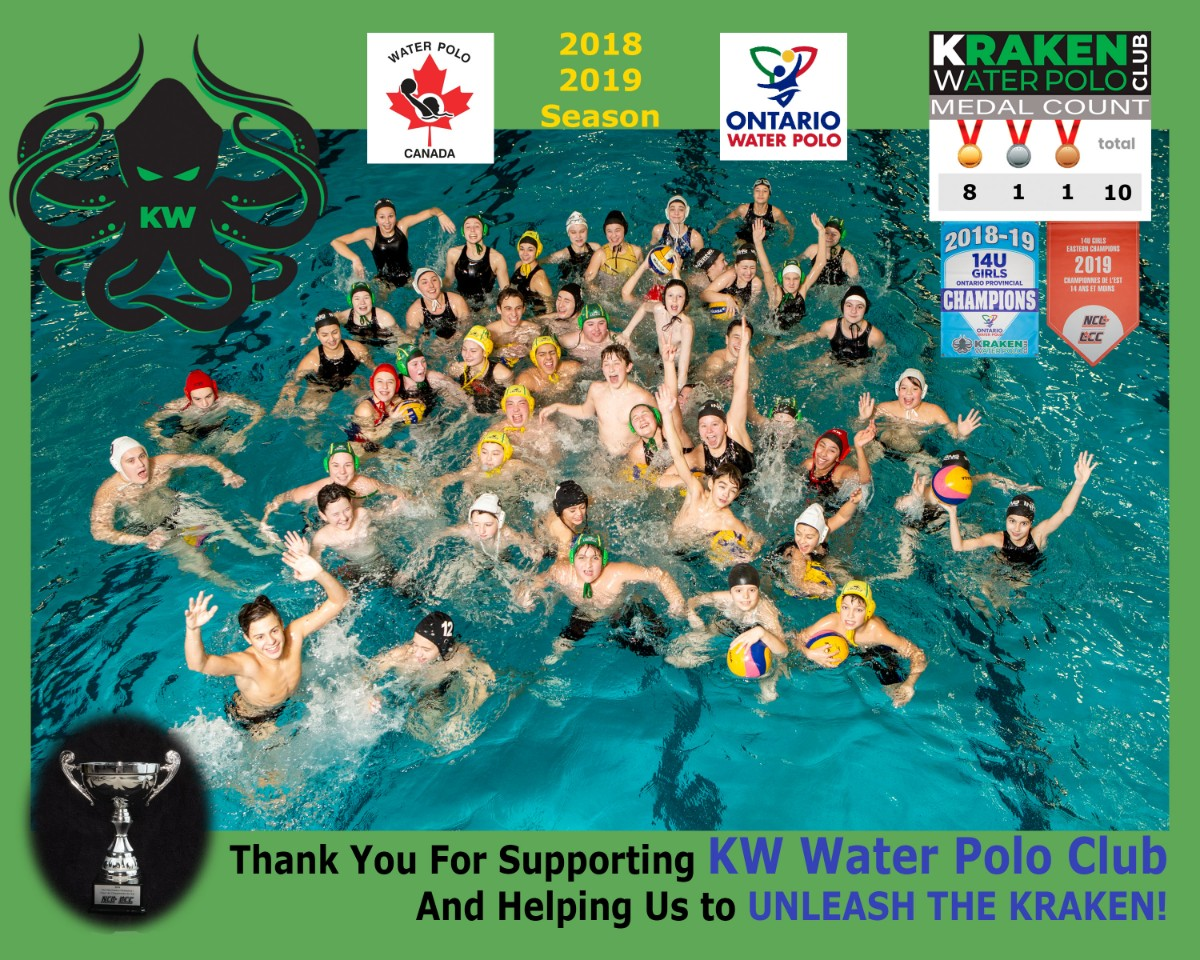 Water Polo Banner 2018 to 2019